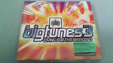 "CD ""BIGTUNES 3 LIVING FOR THE WEEKEND"" 3 CD 62 TRACKS MINISTRY OF SOUND"