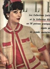 "ELLE n°637 ""collection"" francoise sagan m-helene arnaud"