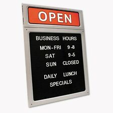 Cosco Message/Business Hours Sign - 098221