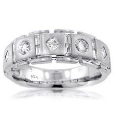 1.75 Ct Tw Men's Princess Cut Diamond Wedding Band Ring In Platinum