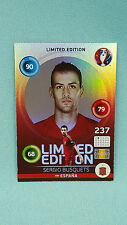 Panini Adrenalyn XL Euro 2016 Sergio Busquets - Hero Limited Edition EM