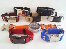 Heavy Duty Nylon Watch Strap 24mm 26mm by HD-Straps Military ZULU INVICTA Mens