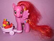 My Little Pony MLP FIM G4 Feather May Feathermay Pet Parrot Pony Brushable Toy!
