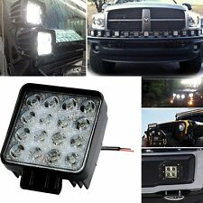48W Flood LED Off road Work Light Lamp 12V 24V car boat Truck Driving UTE Jeep
