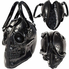 Kreepsville 666 Skull Black Purse Death Skull Skeleton Coffin Handbag Bag