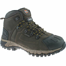 DICKIES MEDWAY BROWN SAFETY BOOTS SIZE UK 12 EU 47 FD23310 WATERPROOF HIKER
