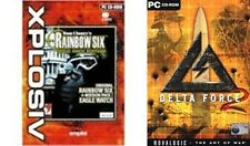rainbow six gold edition delta force 2    new&sealed