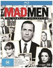 Mad Men : Season 1-7 (Blu-ray, 2015, 8-Disc Set) Excellent to Like New Condition
