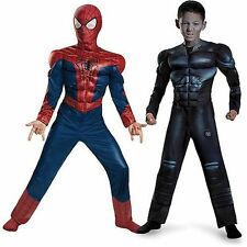 The Amazing Spider-Man 2 Reversible Muscles Costume Spider-Man & Electro Med 8