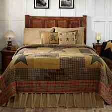 STRATTON QUEEN BED QUILT By VHC BRANDS/PRIMITIVE COUNTRY BEDDING