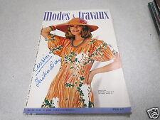 MODE COUTURE TRICOT CONFECTION POUPEE REVUE MODES et TRAVAUX N° 894 mai 1975 *