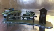 * Minitank 851 Checkpoint Set USA Military Police 1:87 HO