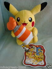 JAPAN Pokemon Center Limited OOPS! PIKACHU Series 2013 PIKACHU Plush with Tag