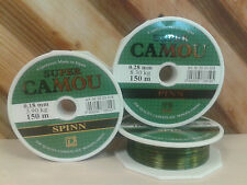 Fishing Line Super Camou Spinn 150m, 0.28mm, 8.30kg, pike, perch, zender