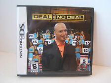 Deal or No Deal Nintendo DS CIB Tested Working