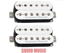 Seymour Duncan SH-4 JB & SH-2 Jazz Hot Rodded White Set (FREE WORLDWIDE SHIPPING