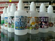 VG VAPE - 6x 50ml Bottles 69 Flavours E Liquid Juice 0mg Premium 80/20