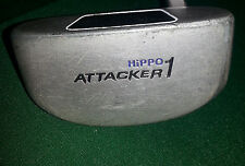 Hippo 1Attacker Putter - 34 1/2 Inches Length - Steel Shaft - Hippo Grips