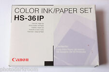 Canon HS-36IP - Ink and Paper set for 36 Prints - for CD-300 and Selphy - NEW F5