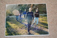 BAD RELIGION signed Autogramm In Person 20x25 cm GREG GRAFFIN, GREG HETSON etc.