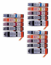 15PK Canon PGI-225 CLI-226 Pixma MG5320 MX892 MX882 MG5220 3SETS $19.99 NEW INK