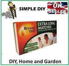 Extra Long Matches Box of Long Safety Matches BBQ Oven Fire Lighter Starter