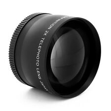 58mm 2x Lens for Sony VCL-DH1758 DCS-H1 DSC-H2 DSC-H5