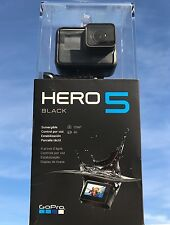 GoPro HERO 5 Black 4K SPORT Action Camera BRAND NEW CHDHX-501 WATER PROOF Wi-Fi