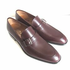 C-1379181 New Salvatore Ferragamo Lee 2 Leather Loafers Shoes Size US 9 D