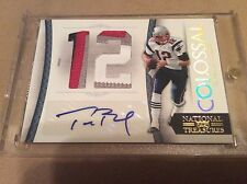 Football Hot Pack 10 Card Guaranteed Hit! Tom Brady & Andrew Luck Search Pack!!