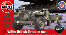 Airfix A02339 wwii willys jeep remorque & howizer d-day 1:72 scale kit