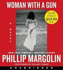 WOMAN WITH A GUN unabridged audio book on CD by PHILLIP MARGOLIN