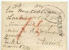 """HANNOVER """"EMDEN 28 SEP."""" schwarzer Oval-Stempel (Feuser 868-9) u. """"AURICH"""" L1"""