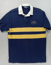 Polo Ralph Lauren FISHING & TACKLE Stitched Rugby Jersey Shirt (Men's XL)