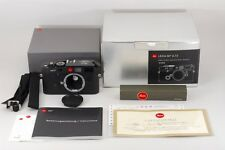 【AB Exc+】 Leica M7 Black 0.72 JAPAN Model 35mm Rangefinder film Camera Box #2302