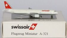 Schabak Airbus A321-211 Swissair HB-MIK in 1:600 scale