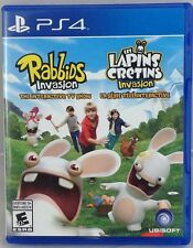 RABBIDS INVASION: THE INTERACTIVE TV SHOW - (PLAYSTATION 4, 2014) (1736-USHA)
