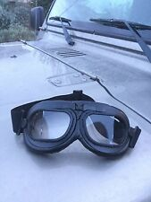 L@@K Awesome RAF Military airplane goggles, great for motorcycle, quads riding