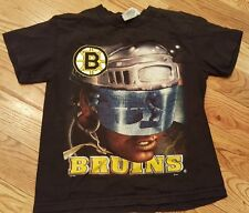 Lee Boston Bruins Hockey NHL T-shirt ,black, Youth Size  Small, Short Sleeve