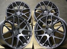 "18"" GUN MS007 ALLOY WHEELS FIT BMW E46 E90 E91 E92 E93 Z3 Z4 F20 F21 F30 F31 F32"