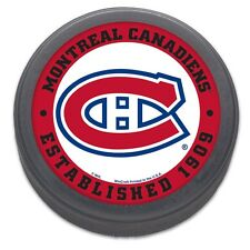 Montreal Canadiens, Established 1909, NHL Logo Collectors Puck