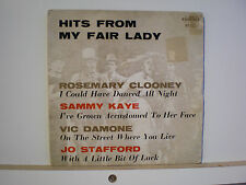 45 Vinyl Records EP Hits From My Fair Lady