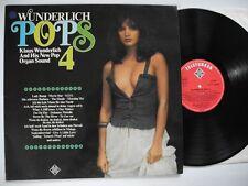 KLAUS WUNDERLICH Pops 4 LP 1976 EX  sexy cheesecake