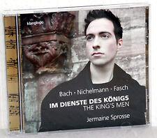 CD JERMAINE SPROSSE - Im Dienste des Königs - Bach, Nichelmann, Fasch