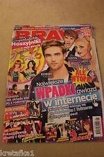 Bravo 1/2012 Robert Pattison,Lady Gaga,Justin Bieber,Bella Thorne,Bruno Mars