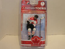 MCFARLANE TEAM CANADA JONATHAN TOEWS WHITE JERSEYS FROM 2010 GOLD MEDALISTS
