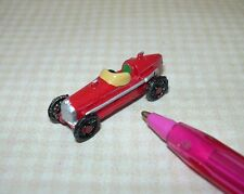 "Miniature Warwick Pewter RED Race Car, 1 1/4"" Long : DOLLHOUSE 1/12"