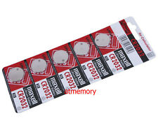 Maxell CR2032 CR 2032 3V Button Coin Cell Battery x 5pcs Made in Japan Genuine