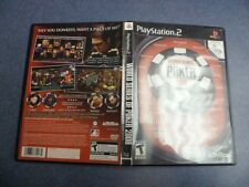 World Series of Poker 2008 CD and Case Sony Playstation 2