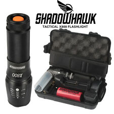 6000lm Authentique Shadowhawk X800 lampe de poch tactique LED Torch militaire